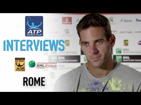 Interview: Del Potro Confident With Level Entering Djokovic QF At Rome 2017