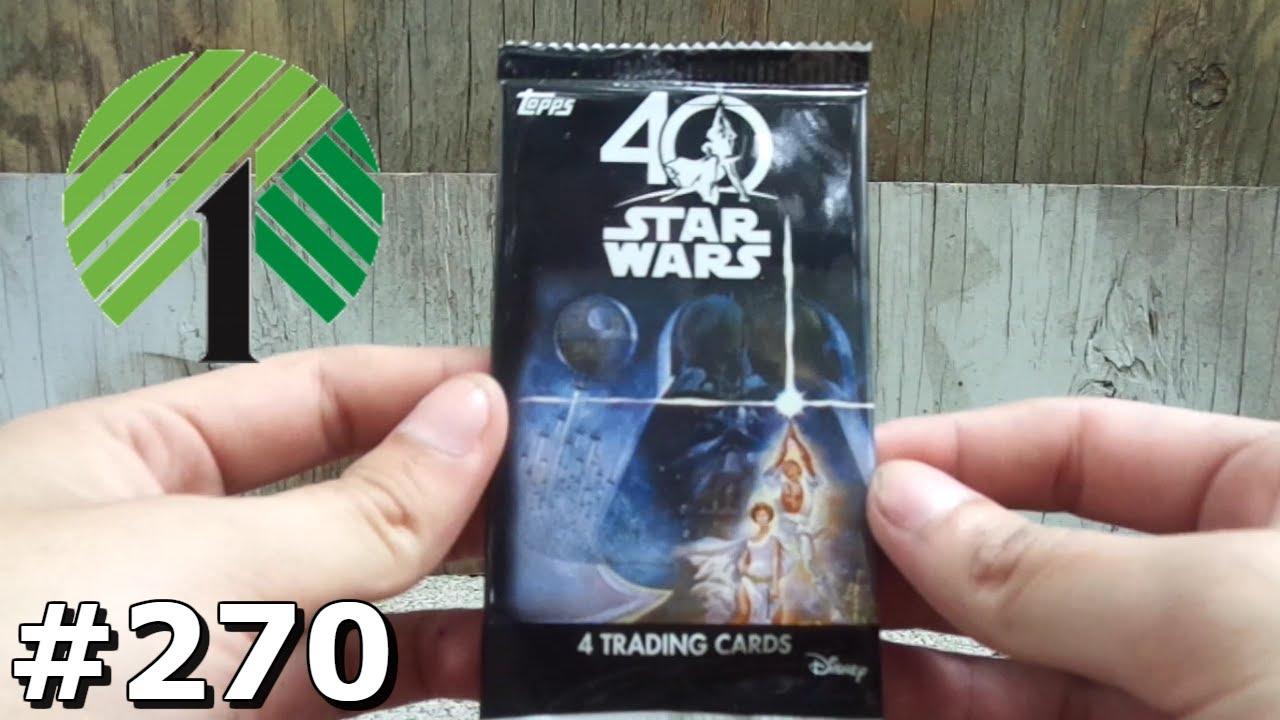 Pack review topps star wars th anniversary pack break