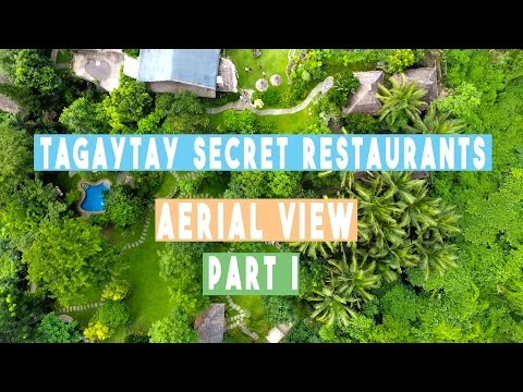 TAGAYTAY SECRET RESTAURANTS PART I - CHATEAU HESTIA & NURTURE WELLNESS SPA