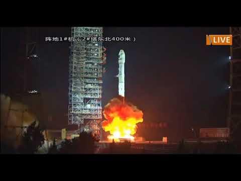 عملية اطلاق القمر الصناعي الجزائري ألكوم سات 1 من الصين