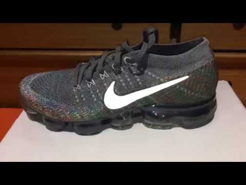 e2fe9c99032db NIKE VAPOR MAX FLYKNIT FOR WOMEN نايكى فابور ماكس فلاى نيت - YouTube