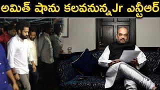 అమిత్ షాను కలవనున్నJr ఎన్టీఆర్ | Jr NTR And Amith Sha | Cinema Topic