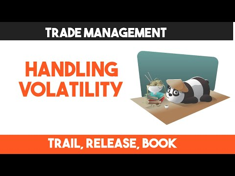 Handling Volatility | Trade Management Practical Example | Intraday Trading Trade Management