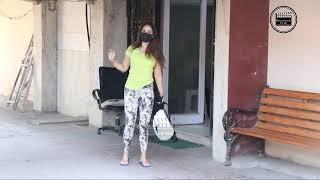 Kim Sharma & Leander Paes Spotted At Pilates In Santacruz
