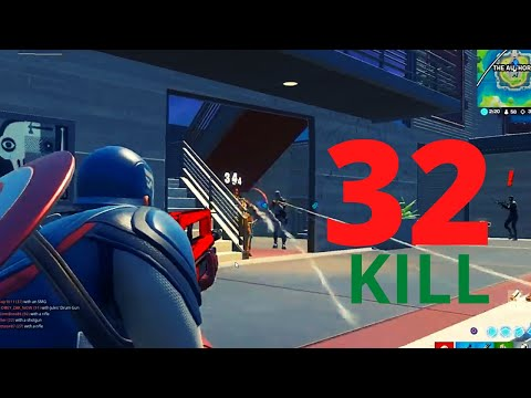EXCLUSIVE GAME PLAY 32 KILL - SEASON 3 NEW RECORD - FULL GAME (Fortnite Chapter 2 Season 3)