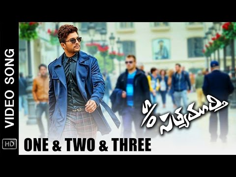 S/O Satyamurthy Movie Video Songs | One & Two & Three Full Song | Allu Arjun, Samantha, Nithya Menen