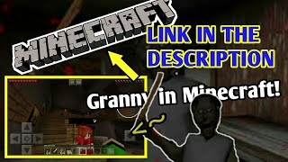 GRANNY HOUSE IN MINECRAFT(LINK IN DESCRIPTION)