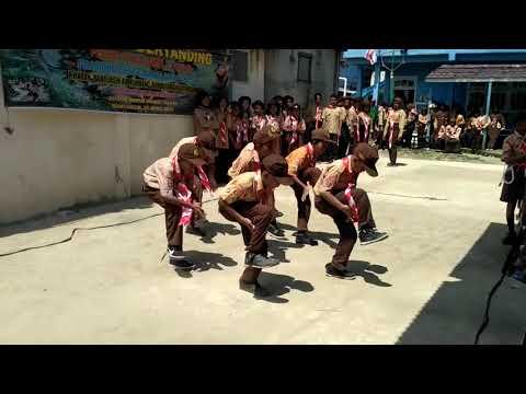 Yel-yel Regu Elang Pramdubelsram Panca Lomba MTS/MA Baabul Ulum Mariana (SDN 12 Rambutan)