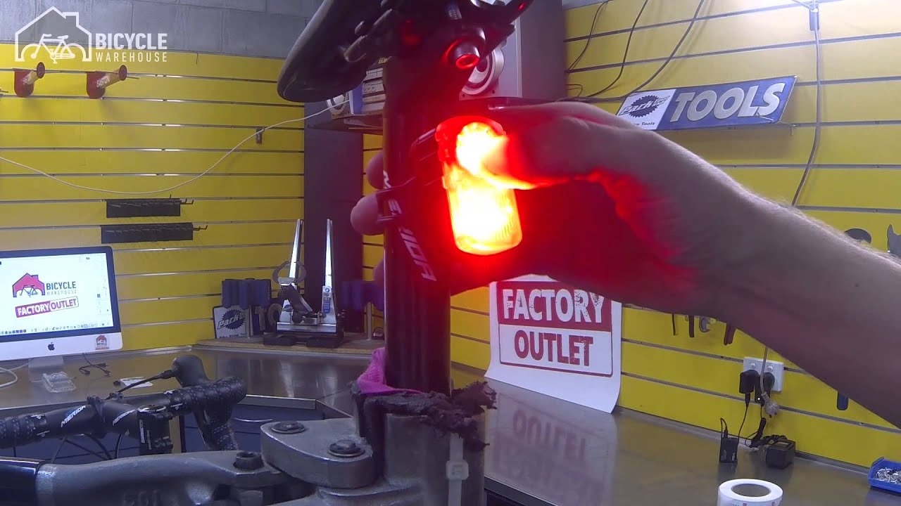 Azur 200 Lumen Tail Light Youtube