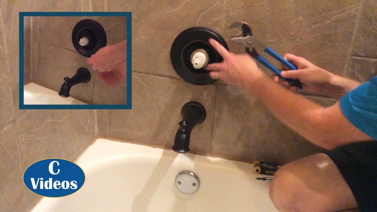 Repairing a Leaking Faucet – Delta Faucet Monitor 1400 Series RP4993 ...