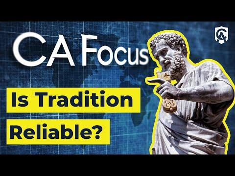 Is Tradition Reliable? | Joe Heschmeyer | Catholic Answers Focus