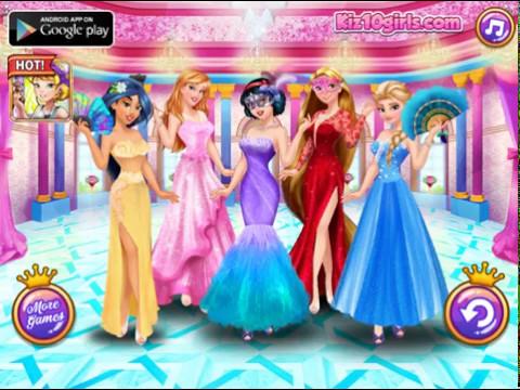 Принцессы на маскараде
