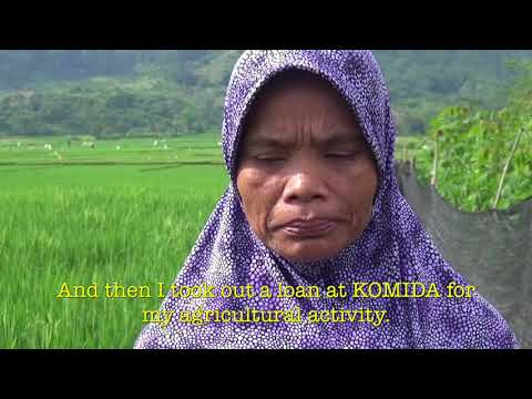 Mrs Ito is a Komida client, a microfinance institution supported by BNP Paribas.