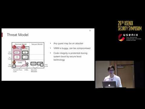 USENIX Security '17 - vTZ: Virtualizing ARM TrustZone