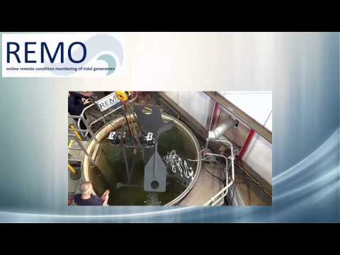 REMO-Online remote condition monitoring of tidal generators