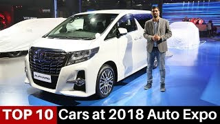 Top 10 Cars at 2018 India Auto Expo