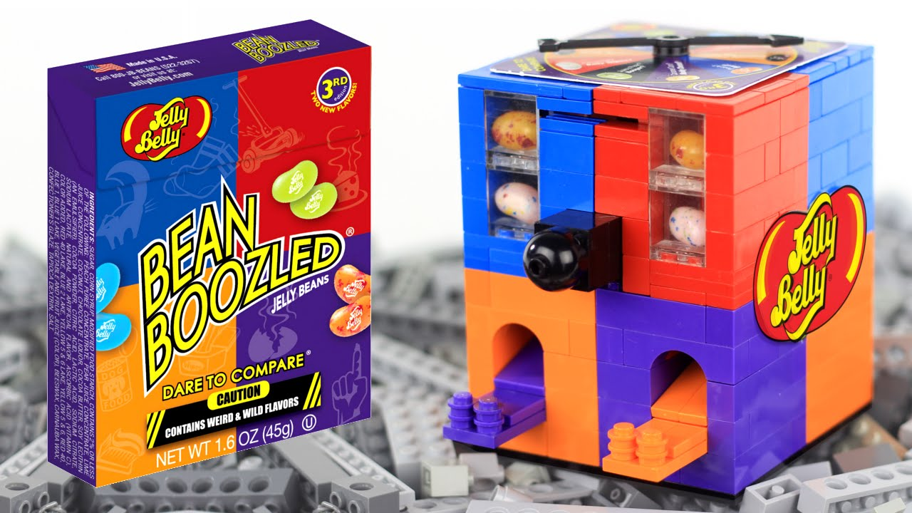 LEGO Jelly Belly Bean Boozled Candy Machine - YouTube