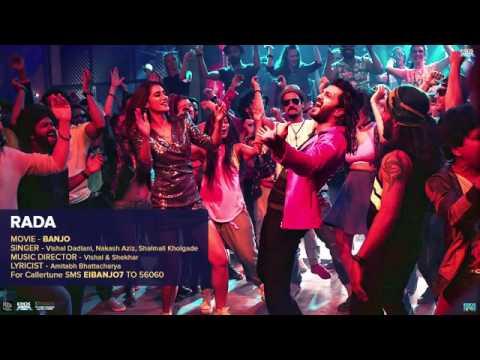 Rada Audio Song   Banjo   Riteish Deshmukh, Nargis Fakhri   Vishal & Shekhar   YouTube 360p