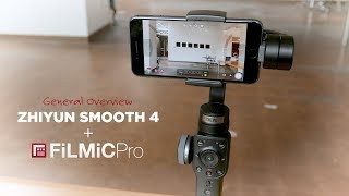 How Is Using the SMOOTH 4 Gimbal with FiLMiC PRO?