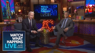 Anderson Cooper Grills Andy Cohen in a Special One-on-One Interview | WWHL