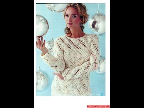 Crochet Patterns For Free Crochet Blouse 1512 Youtube
