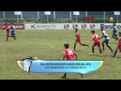 Highlight Liga KG Panasonic U-14 2016/2017 Pekan ke-24 Bagian ke-2