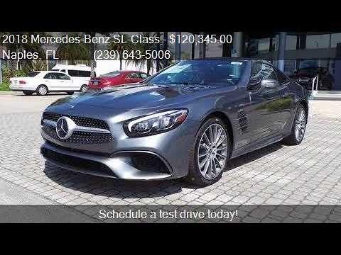2018 Mercedes Benz Sl Cl Sl550 Cabriolet For In Napl