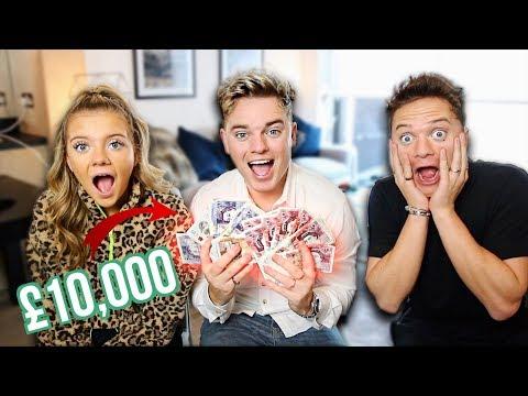 £10000 SIBLING FACE OFF  ft Conor Maynard & Anna Maynard