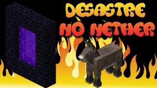 Minecraft Survival - DESASTRE NO NETHER #09