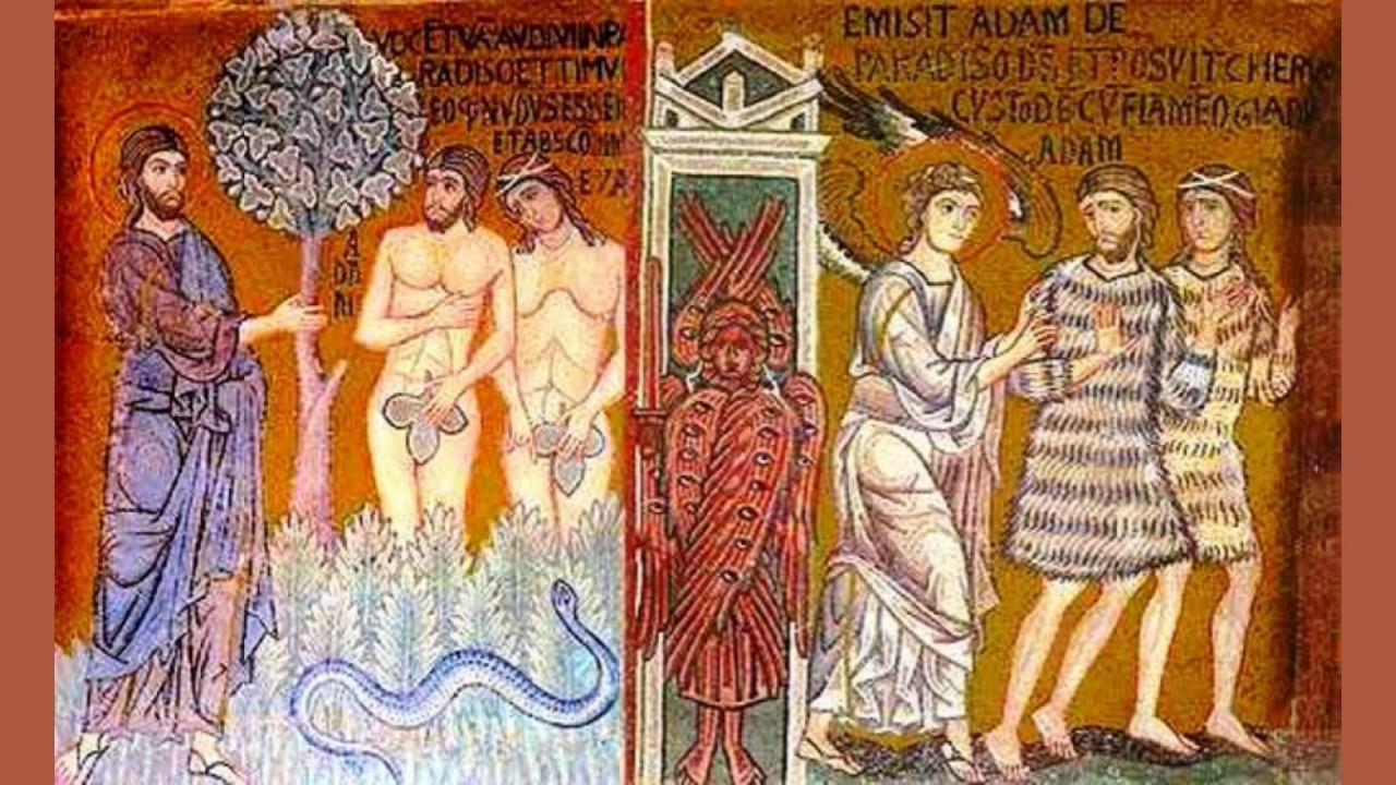 Imagini pentru izgonirea lui adam din rai
