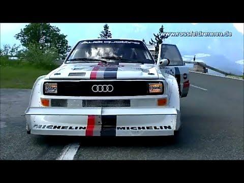 Audi Quattro E2 Pikes Peak - Walter Röhrl - Rossfeldrennen 2013