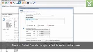 Macrium Reflect Free - Create, burn, and back up disk images - Download Video Previews