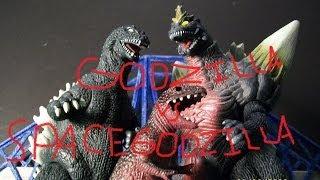 Godzilla VS Spacegodzilla (Movie 4)
