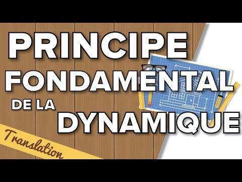 Principe Fondamental de la Dynamique (PFD) en Translation - Terminale SI / STI2D