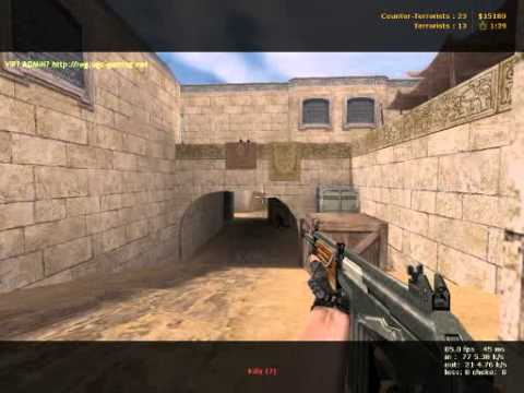 Reign Pubbing in Dust2 Counterstrike Condition Zero Part 3 of 4 Demo Via Fraps