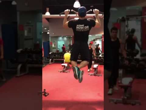 UPPER BACK TRAINING @ Fitness First Dubai