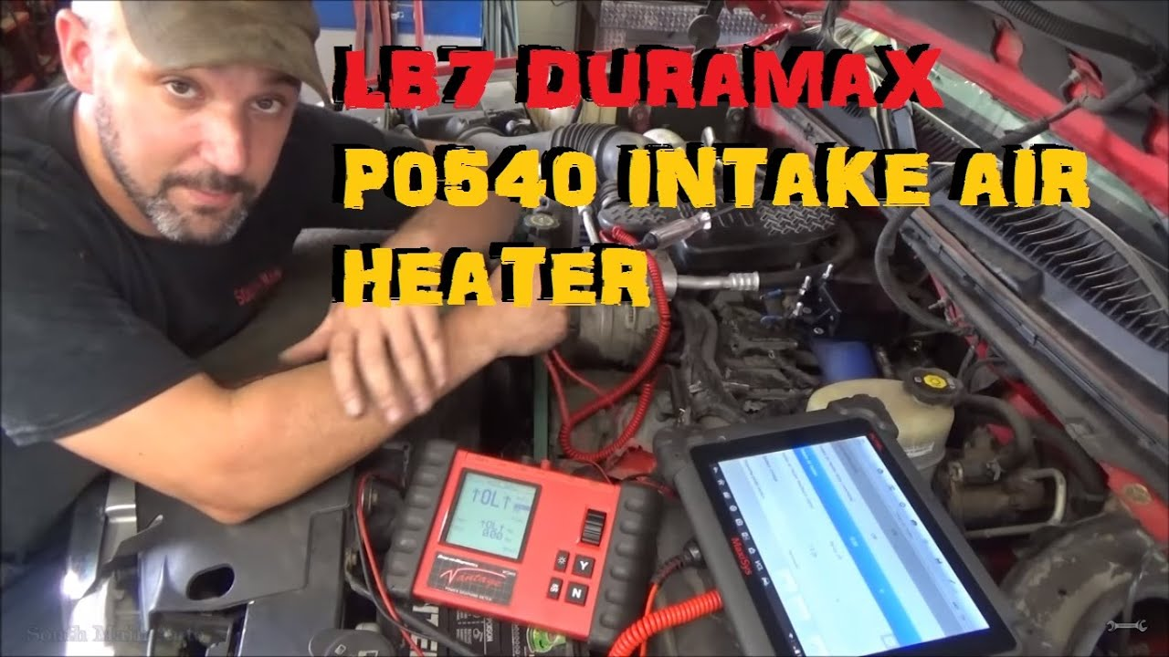 Chevy Duramax P0540 Intake Air Heater Incorrect Voltage Youtube 2007 Gmc C5500 Wiring Diagram
