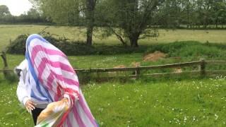 Bed Sheet Attacks Woman!