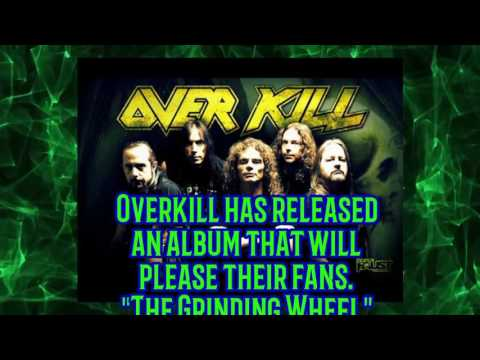 """Always Thrashing!"" Reviews - Overkill ""The Grinding Wheel"""