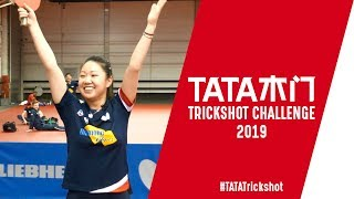 Trick shot time with Lily Zhang I #TATATrickshot