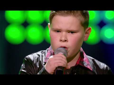 Jerko - 'Little Monster' | Blind Auditions | The Voice Kids | VTM