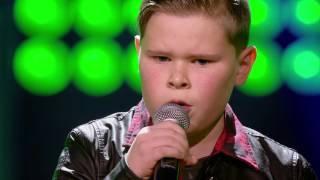 Jerko Little Monster Blind Auditions The Voice Kids VTM