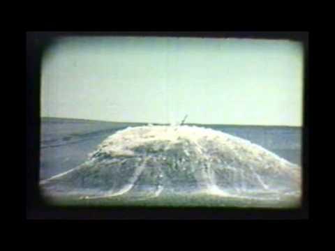 A Plowshare Program Test Project Sedan - Part 1  - 1962
