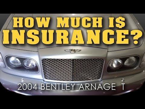 how much is insurance owning a bentley arnage video 13 youtube. Black Bedroom Furniture Sets. Home Design Ideas