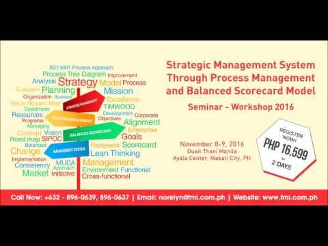 Strategic Management System Through BPM and BSC Seminar-Workshop 2016 Radio Ad