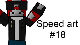 Minecraft Avatar Speed Art #18 - Mojo Da-King!