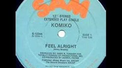 komiko, feel alright, hq audio.