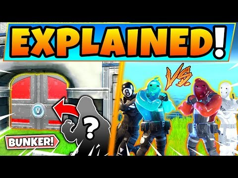 THIS SKIN IS HIDDEN IN THE BUNKER + Fortnite CHAPTER 2 Story Explained!