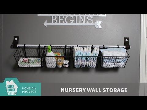 Nursery Wall Storage