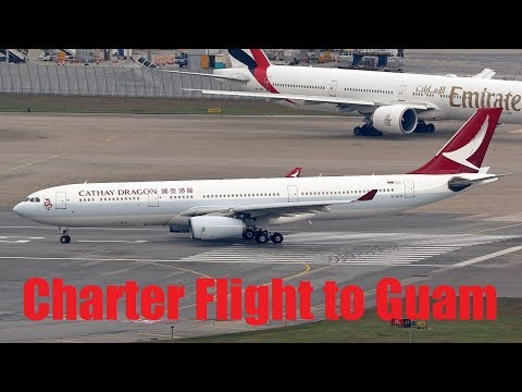 Cathay Dragon to fly Charter Flight to Guam in November - Sep 2017
